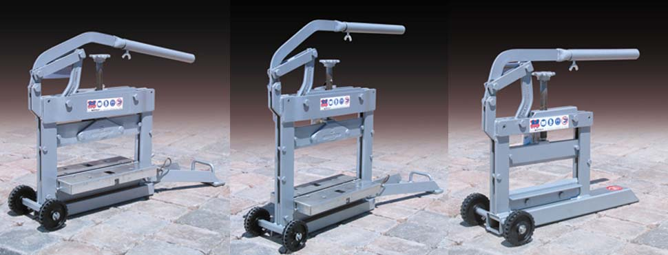 PAVING BLOCK CUTTERS