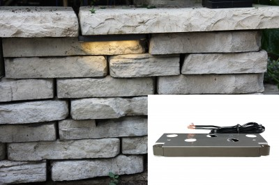 Retaining Wall And Stair Lights Brickstop